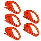 Ehdis Snitty Sicherheitsmesser Vinylauto-Verpackungs-Ausschnitt-Werkzeug-Carbon-Faser-Ausschnitt Anwendung Messer 4 x 2,6 Zoll ZIPPY - 5 PCS