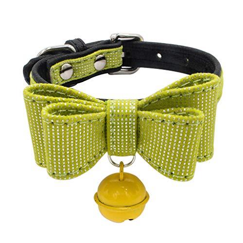 Saingace(TM) Haustier Kragen,Haustier Hund Verstellbarer Bowknot Kragen