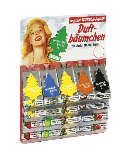 Preisvergleich Produktbild Wunderbaum Lufterfrischer 60er Sortiment