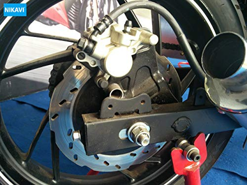 NIKAVI Rear Brake Disc Plates Compatible for TVS Apache RTR Models (Rear)