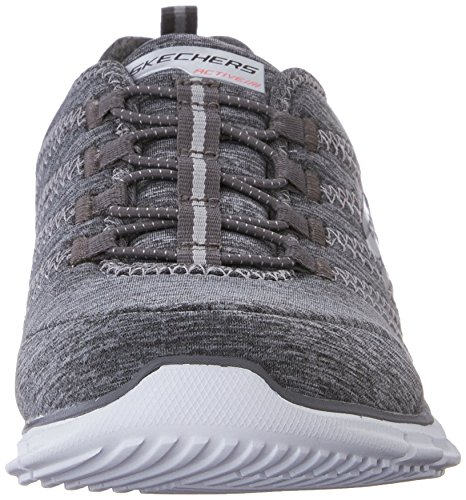 Skechers GLIDERElectricity, Sneakers basses femme gris (GRY)