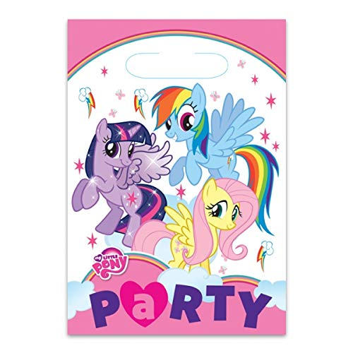 Amscan International My Little Pony Party Taschen (My Little Pony-party-spiele)