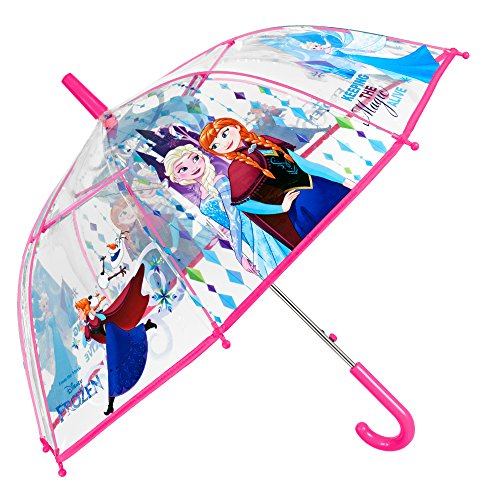 Paraguas Transparente Disney Frozen Niña - Paraguas