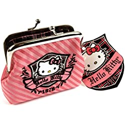Hello Kitty Rayas Super Deluxe Monedero