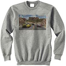 Trackmania 2 Nature Trees Seven Yellow Unisex Sweater