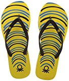 United Colors of Benetton Women's Yellow Flip-Flops and House Slippers - 3 UK/India (35.5 EU)
