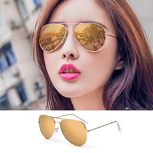 Pig pecs Unisex Mode Polarisiert Oversize Sonnenbrille,Gläser,UV400 Schutz,100% UV-Schutz,Ultraleicht Metallrahmen,Ideal zum Autofahren Angeln Städtetouren,O,Polarizedlight