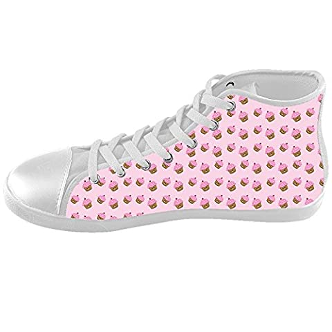 Custom Sweet Cupcake Kids High-top Canvas Shoes Footwear Sneakers Shoes