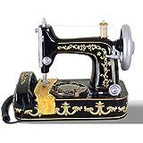 Liu Yu·casa creativa,Teléfono de la máquina de coser casera retro creativa de la resina negra