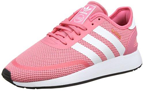 adidas Unisex-Kinder N-5923 Sneaker, pink/weiß, 40 EU