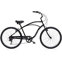 "Electra Cruiser 7D Tall Herren Fahrrad 26"" Schwarz Beach Rad Retro 7 Gang, 513012"