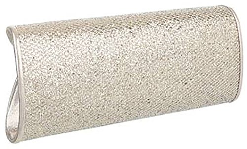 Pochette donna elegante chiusura clip alt:11cm lun:26cm larg:6cm Oro