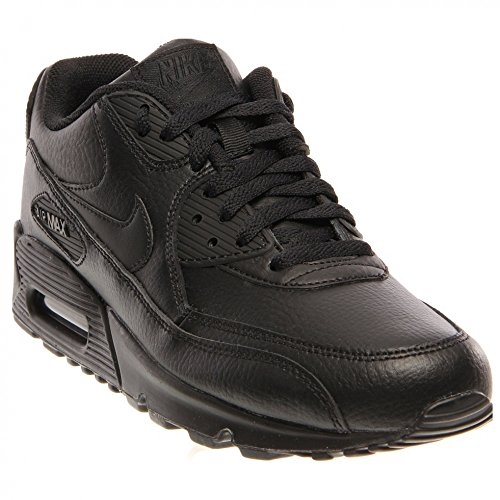 Nike Air Max 90, Baskets mode mixte enfant Nero