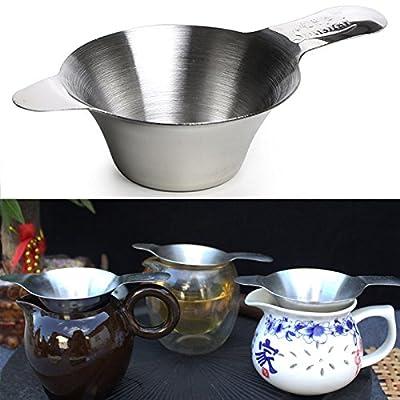 DIY à thé en acier Stainlesss Infuseur Stainer double couche Thé Stainer Thé Acessaries