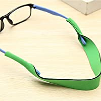 Aowa Lunettes Sangle Cordon de cou Corde Lunettes de sport Bande support de lunettes Corde Liberty Sangle de lunettes de sport