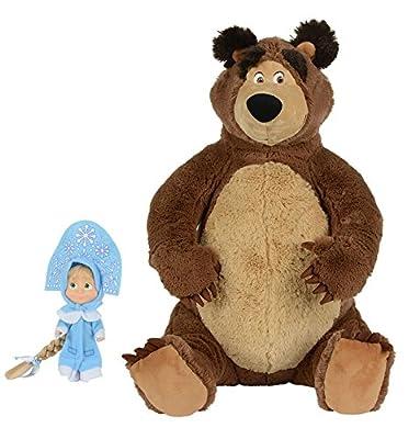 Puppe Mascha und der Plüsch Bär Set Masha and the Bear Misha Masha i Medved