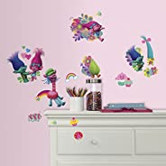 RoomMates Trolls Peel And Stick Wall Decals,Multicolor