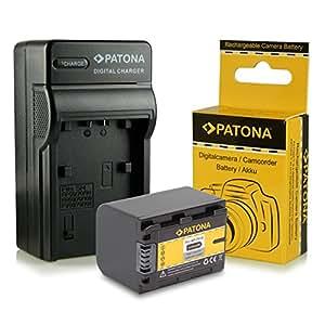 Chargeur + Batterie NP-FH70 / NPFH70 pour Sony DCR-DVD | DCR-DVD92 | DCR-DVD103 | DCR-DVD105 | DCR-DVD106 | DCR-DVD108 | DCR-DVD109 | DCR-DVD110 | DCR-DVD115 | DCR-DVD150 | CR-DVD202 | DCR-DVD203 | DCR-DVD205 | DCR-DVD304 | DCR-DVD305 | DCR-DVD306 | DCR-DVD308 | DCR-DVD310 | DCR-DVD403 et bien plus encore…