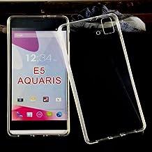 Donkeyphone 599371031 - funda gel transparente para bq aquaris e5 fhd \\/ fnac 2 5\\\