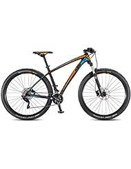 KTM Aera Comp 29 Mountain Bike Carbon Mate Naranja Azul 2016 RH 43 cm, 6,4 kg