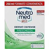 Neutromed, Detergente Intimo Dermo Defense Freschezza con Azione Antibatterica, 250ml
