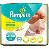 Pampers New Baby Micro 1-2.5kg (24) - Paquet de 2