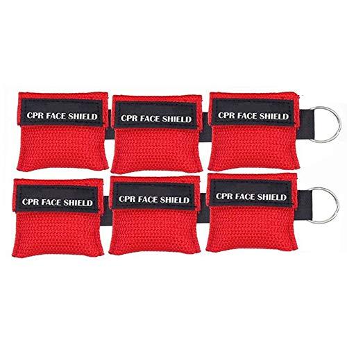 Nuluxi CPR Primeros Auxilios Máscara Primeros Auxilios