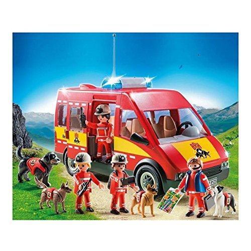 PLAYMOBIL 9125 Perros de rescate - Set exclusivo