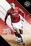 GB eye Ltd Manchester United, Spieler Ibrahimovic 17/18,