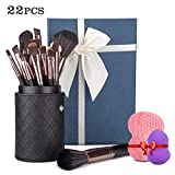 Donix Kit de Brochas Maquillaje 22 Piezas,Juego de Cepillo de...