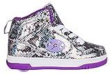 Heelys Flash 2.0 Shoes - Purple Snake Metallic