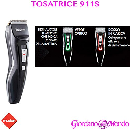 TOSATRICE PROFESSIONALE CAPELLI 911S MUSTER...