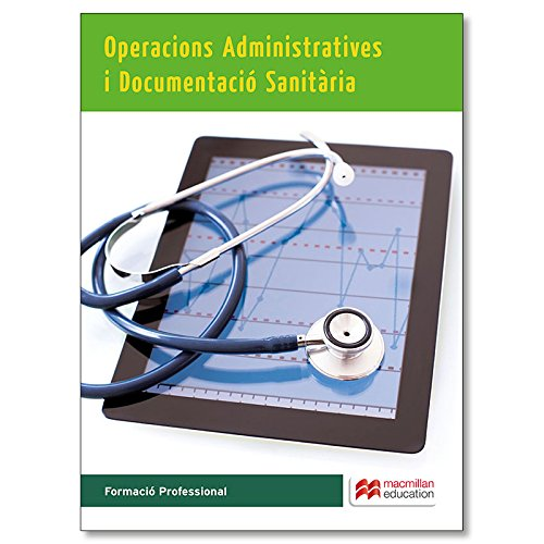 Operacions administratives i documentació sanitària por A. Escolar