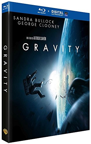 Gravity - Oscar® 2014 du Meilleur Réalisateur - Blu-Ray + DIGITAL Ultraviolet [Blu-ray] [Blu-ray + Copie digitale] [Blu-ray + Copie digitale]