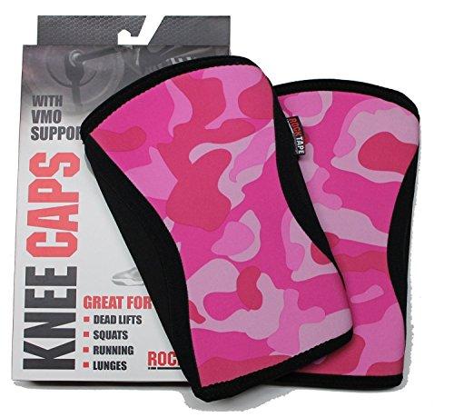 RockTape Knee Caps Protezione per Ginocchio, Pink