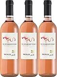 Monteguelfo Il Fenicottero Rosato Toscana IGT Sangiovese 2015 Trocken (3 x 0.75 l)