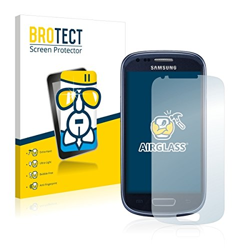 BROTECT AirGlass Premium Glasfolie für Samsung GT-I8200N (extrahart, ultradünn, hochtranzparent, Anti-Fingerprint, flexibel)