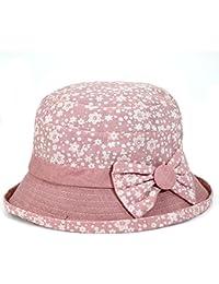 Las señoras visera en otoño/ anti-Sai aleros cortos cubo sombrero