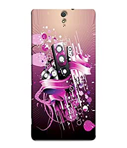 PrintVisa Designer Back Case Cover for Sony Xperia C5 Ultra Dual :: Sony Xperia C5 E5533 E5563 (sports lover base ball black background Designer Case cool Cell Cover cute Smartphone Cover different sports lover )