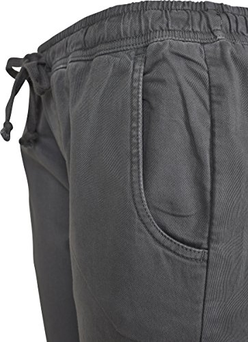 Urban Classic Ladies Biker Jogging Pants, Pantaloni Sportivi Donna Grau (Grey 00111)