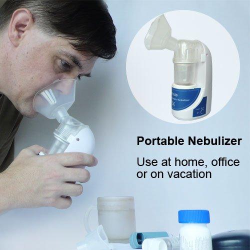 Ultraschall Vernebler Inhalator mit Masken für Erwachsene und Kinder von Home Care Wholesale