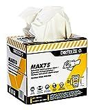 dirteeze Mehrzweck-Vlies Reinigungstücher, Profi Baumwolle Wischen Rag, weiß, 200 sheets