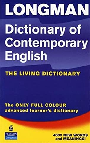 Longman Dictionary of Contemporary English 4th Edition Update 2005 Paper