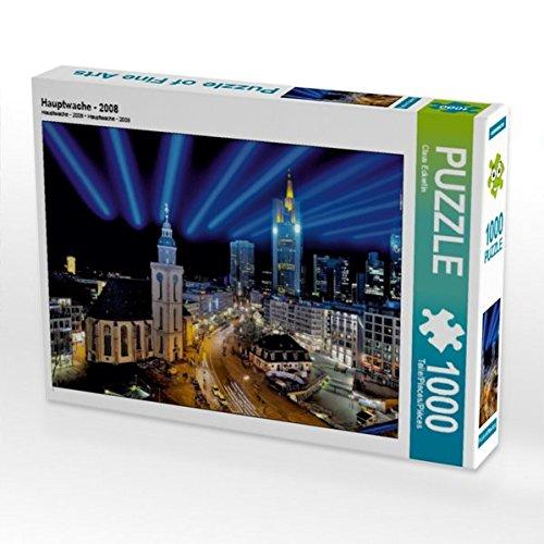 Hauptwache - 2008 1000 Teile Puzzle quer
