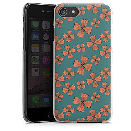 Apple iPhone X Silikon Hülle Case Schutzhülle Blumen Muster Flower Hard Case transparent