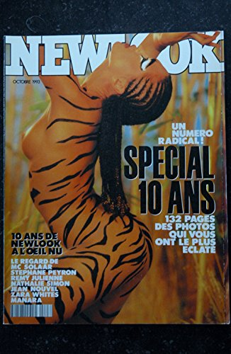 NEWLOOK 123 SPECIAL 10 ANS ZARA WHITES MANARA 132 PAGES COLLECTOR NATHALIE SIMON