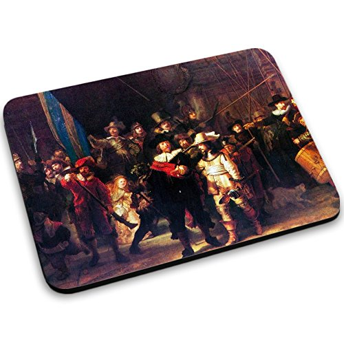 rembrandt-night-watch-designer-mouse-pad-with-colourful-design-strong-anti-slip-base-for-optimum-sup