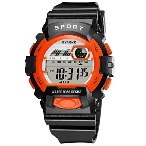Sisit Sports & Outdoors Sports Technology Altimeters (Orange)