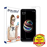 CELLBELL Tempered Glass Screen Protector For Xiaomi Redmi Note 5 Pro With Installation Kit