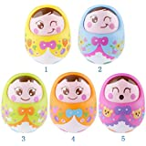 Magicwand Unbreakable Push & Shake Wobbling Tumbler Rattle Doll With Soft Bell Sounds